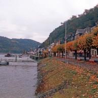 03 ライン川畔の秋 リューデスハイム